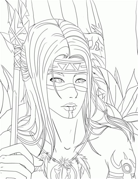 native american coloring pages pdf indian coloring pages native american page tattoo 256697