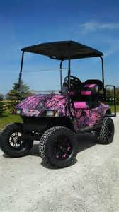 jr s golf carts amp trailers pink camo