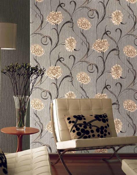 imagenes de flores grises combinar papel pintado saint honor 233