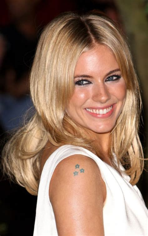 sienna miller tattoo 17 best images about of the screen tattoos on