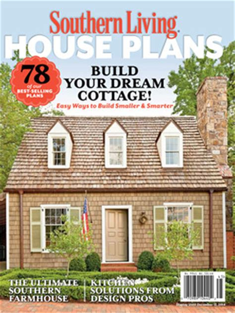 house plan magazines 2014 house plans magazine southern living house plans