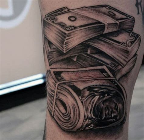 50 money tattoos for men wealth of masculine design ideas
