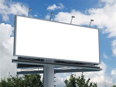 billboard template 4 designer blank billboard 06 high quality pictures
