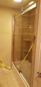 installation kohler levity sliding shower door 74 quot h 1 4