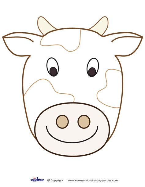 cow face template search results calendar 2015