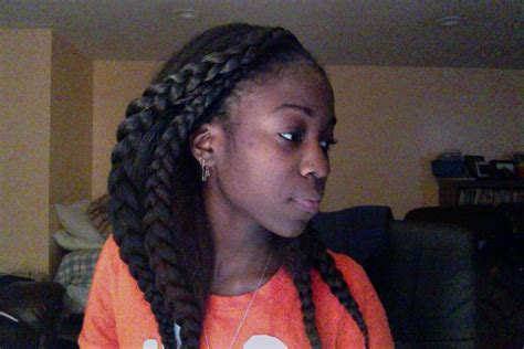 crochet braids kanekaalon braid pattern kanekalon crochet cobra braids 2 youtube