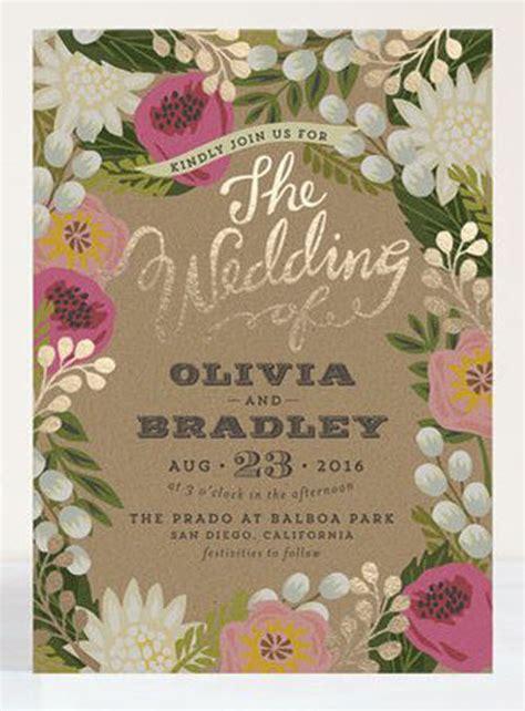 Unique Floral Wedding Invitations by 29 Breathtaking Wedding Ideas Getting Married