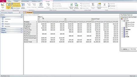 Access Pivot Table by How To Create A Pivot Table In Microsoft Access