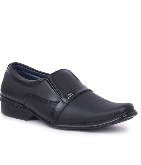 anvi black formal shoes price in india buy anvi black