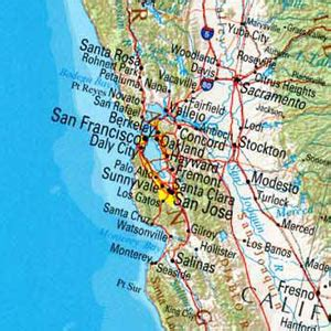 san francisco coast map top 14 city destinations for your family road trip