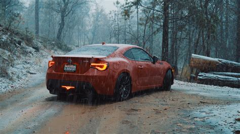 Subaru In The Snow by Subaru Brz In The Snow Oc 3840x2160 Carporn