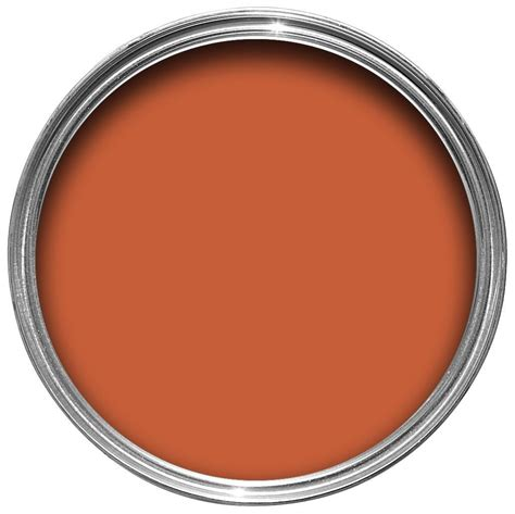 Colours Premium Burnt Amber Silk Emulsion Paint 2.5L