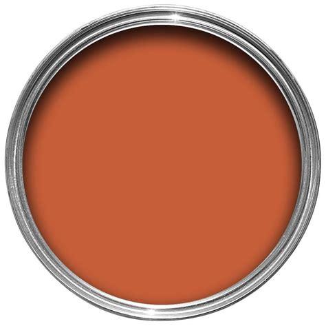 colours premium burnt amber silk emulsion paint