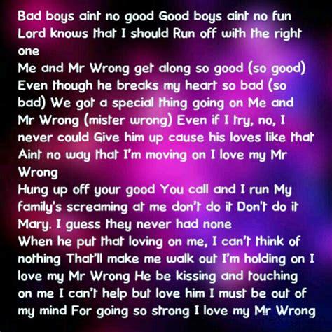 lyrics mr lyrics mr wrong song lyrics i could sing day after day