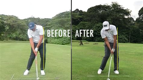 scooping golf swing full swing scooping vs solid impact with steven giuliano