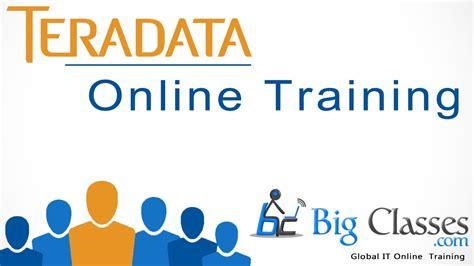online tutorial rdbms teradata online training teradata free demo video youtube