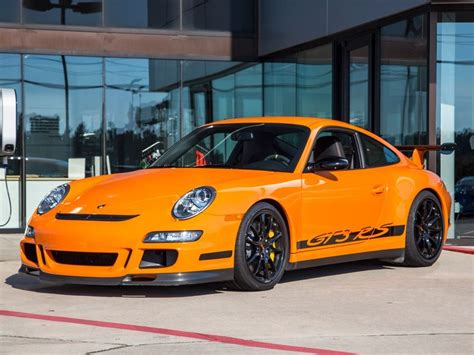 2007 Orange Porsche Gt3 Rs Cars For Sale