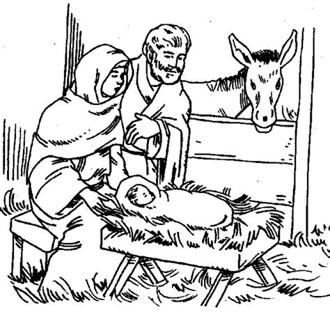 free coloring page of the nativity nativity coloring pages free az coloring pages