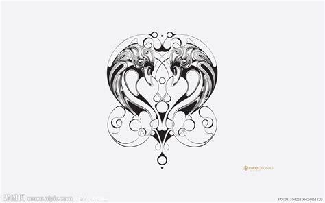 动漫图标设计图__花边花纹_底纹边框_设计图库_昵图网nipic.com K Design Tattoo