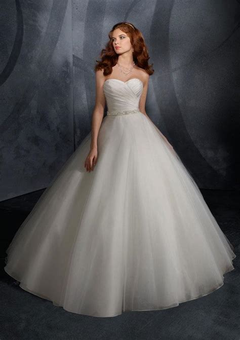 ivory beaded sash taffeta tulle ball gown wedding