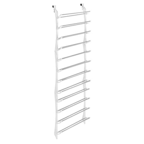 whitmor shoe rack collection 22 63 in x 74 50 in 36 pair