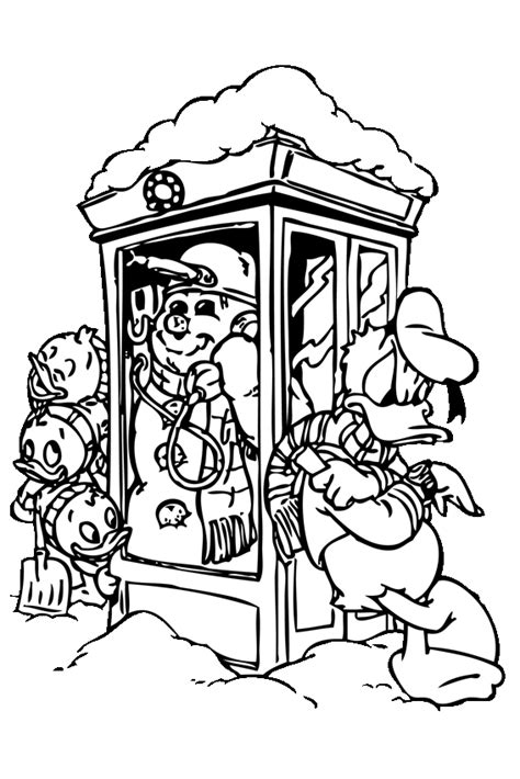 duck call coloring page winter coloring pages to color in when it s very cold outside
