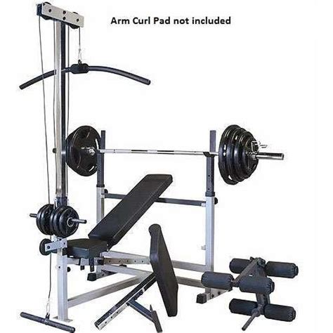 parabody weight bench parabody body smith workout center for sale on retred com