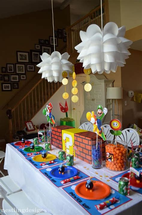 party ideas kara s party ideas super mario party planning ideas cake