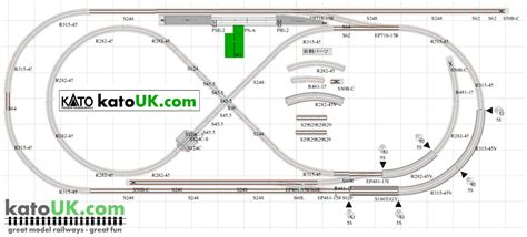 kato unitrack layout guide book kato n scale track layout plans