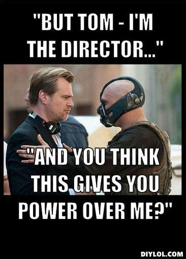 Director Meme - acting destination director s chair