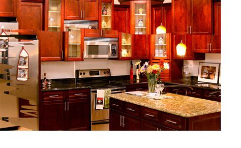 Cherry Kitchen Cabinets Kitchen Image Kitchen Bathroom Design Center