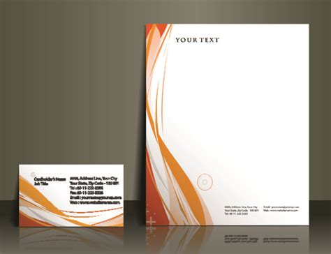 Free Templates And Designs business style flyer and cover brochure vector 02 vector cover free