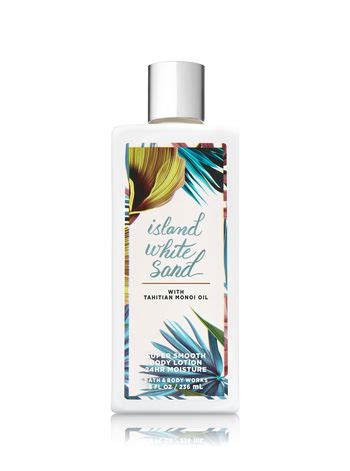 Bath Bodyworks Tahiti Island Lotion 236 Ml island white sand smooth lotion signature collection bath works