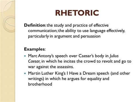 Theme Rhetorical Definition | ap language composition ppt video online download