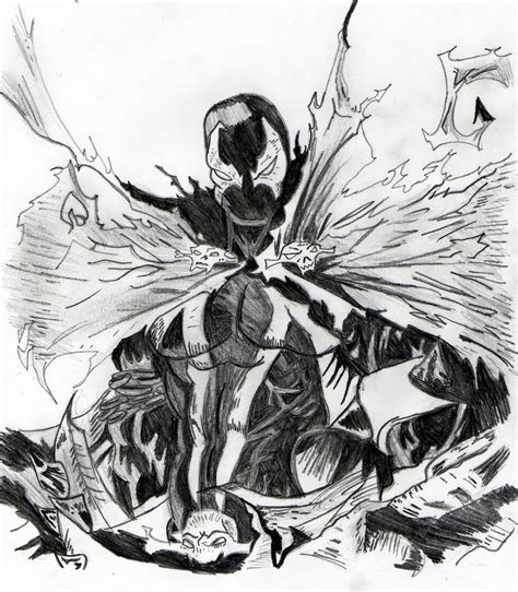 Spawn Drawings spawn drawing by racoonhipsta94 on deviantart