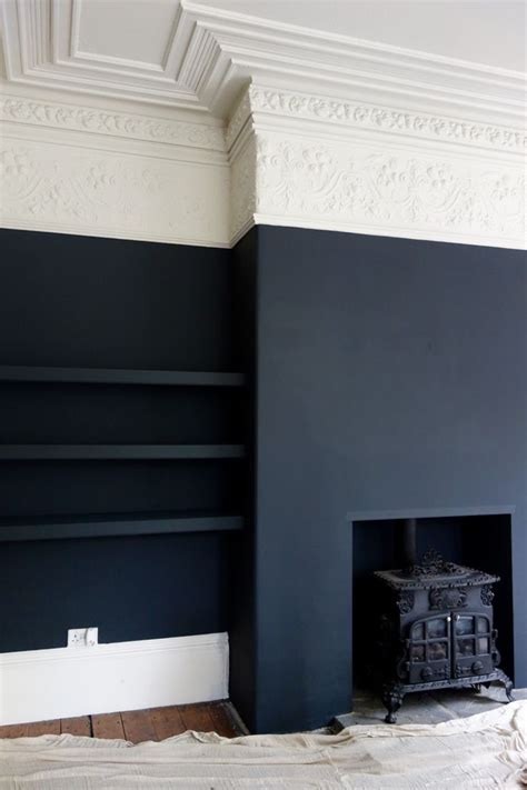 black painted walls 25 best ideas about painted walls on
