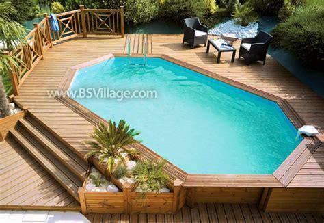 piscine rivestite in legno le piscine fuori terra in legno piscine