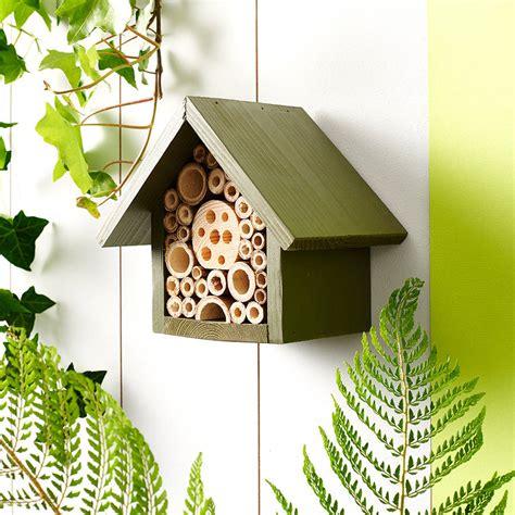 Handmade Hotels - handmade single tier bee hotel by wudwerx