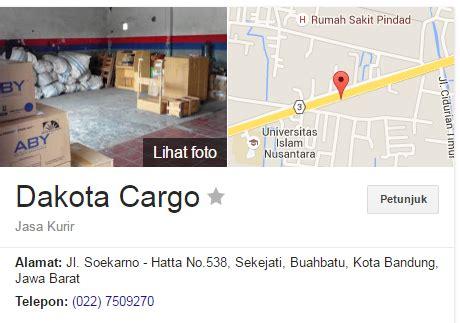 cek resi dakota cargo alamat dakota cargo jakarta dan bandung terbaru cek