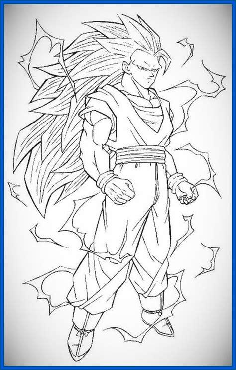 dibujos para imprimir de dragon ball z gt archivos