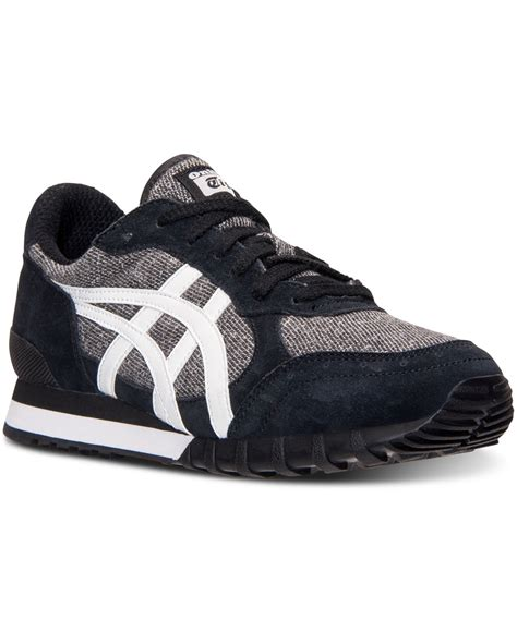 Asic Tiger Onitsuka Casual For 02 asics s onitsuka tiger colorado 85 tweed casual sneakers from finish line in black for