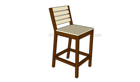 building bar stools bar stool plans howtospecialist how to build step by