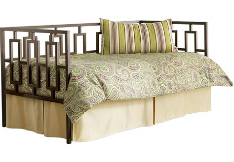 rooms to go daybed lucca metal daybed beds metal