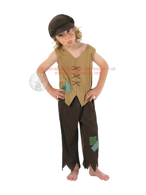 Orphaned Ideas 2 by Child Urchin Poor Boy Fancy Dress Costume