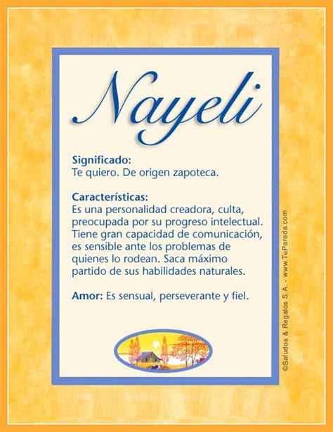 que significa imagenes oniricas nayeli significado de nayeli tuparada com