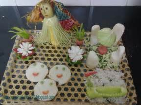 salad decoration anu s and crafts salad decoration with sprout sandwich