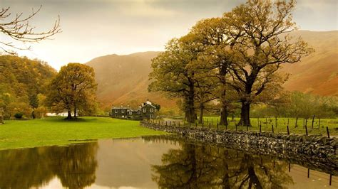 Wedding Barns In Yorkshire English Countryside Wallpaper Driverlayer Search Engine