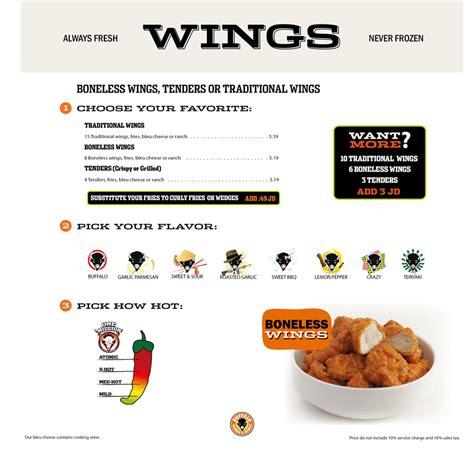 Restaurants Decor Ideas by Buffalo Wings Amp Rings Menu On Ammansnob Com