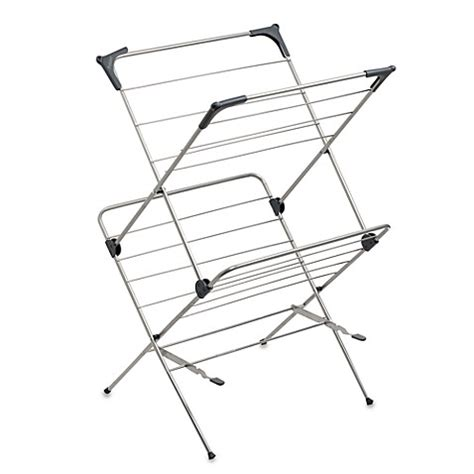 drying rack with cover two tier clothes drying rack with mesh cover