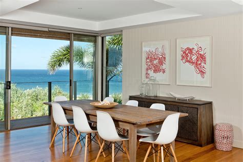 Beach Dining Room | sensational coastal artwork prints decorating ideas